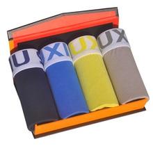 DEWVKV 4pcs/lot Men Underwear Man Boxers Cotton Sexy Panties Breathable Underpants Male Boxer Soft Shorts Hot Sale