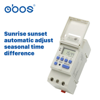 230V/240V16A sunrise sunset automatic turn off on switch digital time switch mini timer electric timer with 16 times on/off tim