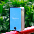 USB Mini Portable Hand Held Air Conditioner Cooler Fan Built-in lithium battery use USB charging fan