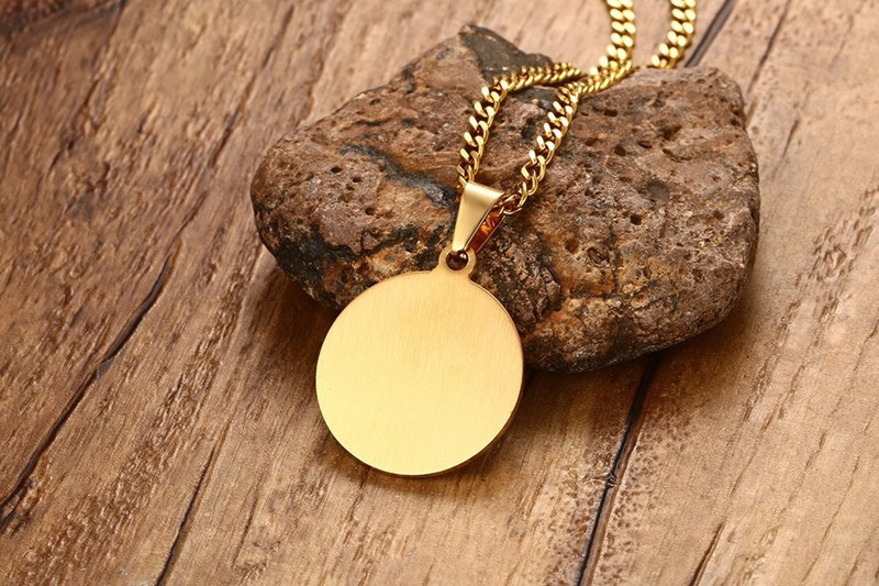 Image 3 - ZORCVENS Islam Muslim Ancient Coins Necklaces Gold Color Arab  Money Sign Chain Middle Eastern Coin ItemsPendant Necklaces   -