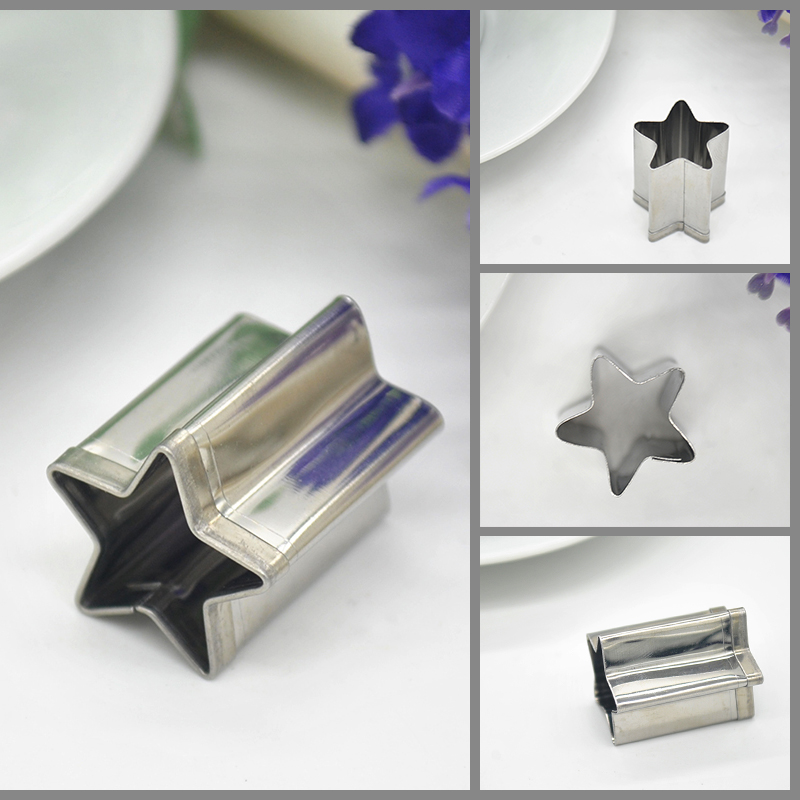 High Quality Stainless Steel Star Shaped Mold Biscuit Pastry Baking Cutter Mold/Dies for ...