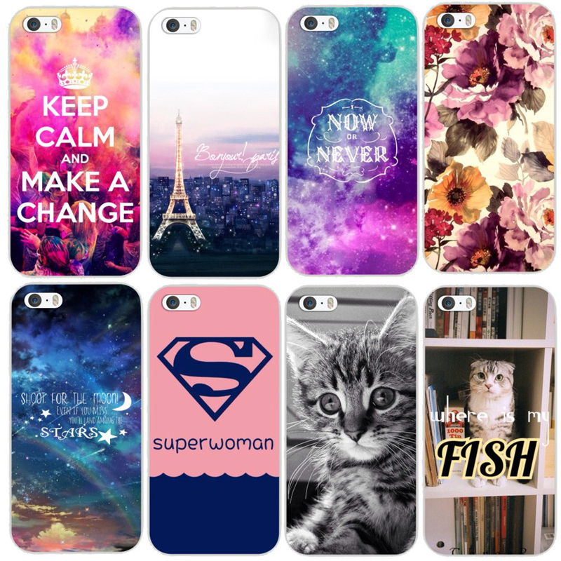 US $1 25 |For Apple Iphone 6 Various Different Beautiful Flower Animals  Writings Pattern PC Hard Case Cover Back Skin MCB068-in Half-wrapped Cases