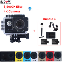 Original SJCAM Sj5000 Series SJ5000X Elite WiFi 30 Waterproof Sports Action Camera+2 battery+Charger+Monopod+Car Charger+Holder
