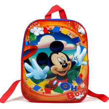 IVI Cute Print Mickey Children School bags Cartoon Kid Girls Boys Kindergarten backpack for kids new year gift
