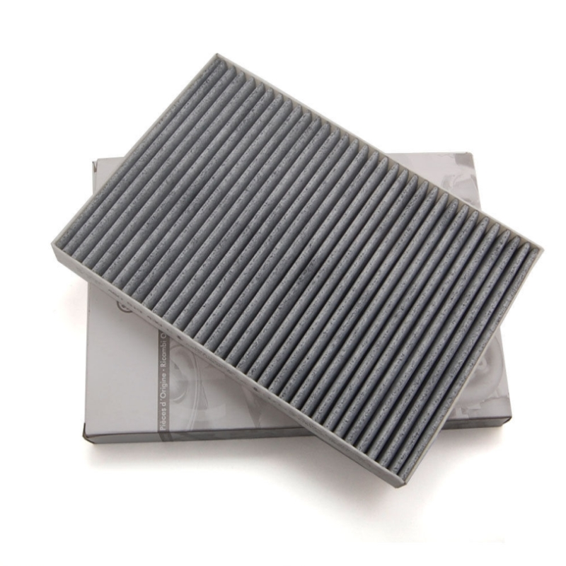Carbon Cabin Air Filter for Audi S6 S4 RS6 A6 A4 RS4 4.2 Allroad Quattro A6 A4 Quattro Car Styling Accessories OE#8E0819439 e2c free shipping new radiator engine cooling fan for audi a4 quattro a4 oe 8e0 959 455k 8e0959455k