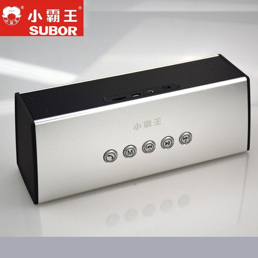Subor D16 haut-parleur mains libres stéréo sans fil HIFI 36 W Bluetooth basse lourde métal mains libres intégré haut-parleur BT pour Xiaomi