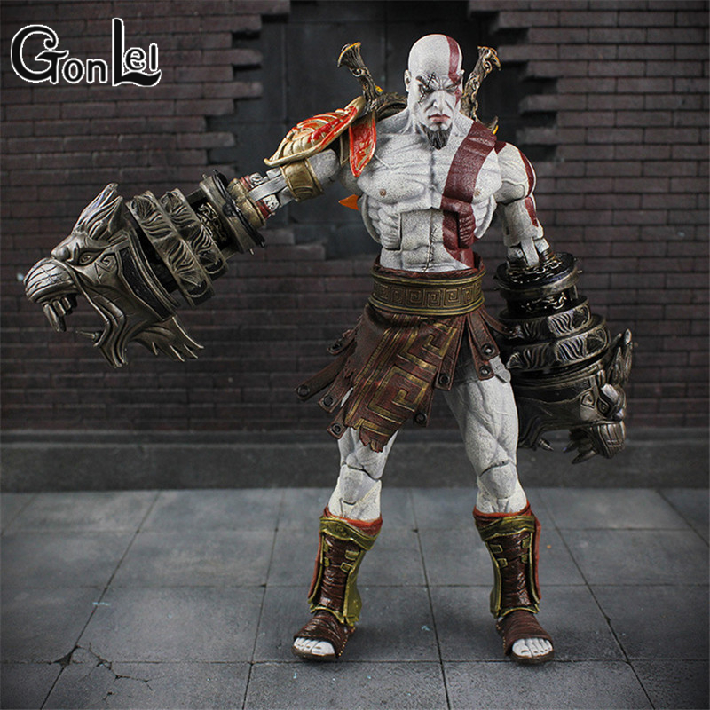 GonLeI 22cm/9 NEW God of War 3 Ghost Of Sparta Kratos Ultimate PVC Action Figure doll Collectible Model Toy in box