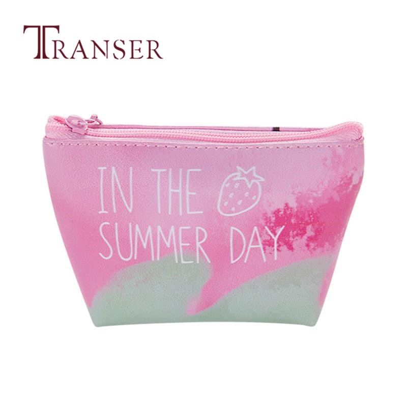 TRANSER Female New Cute Kawaii Small Women Girls Cute Fashion Coin Purse Wallet Bag Change Pouch Key Holder High Quality Aug21