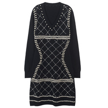 koralikami sukienka z Design