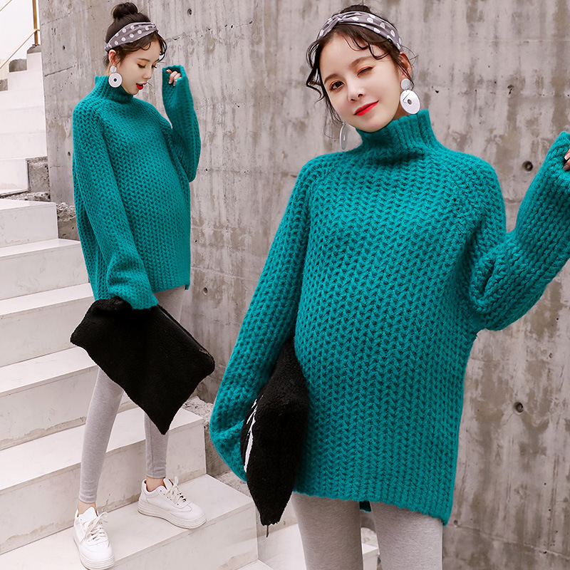 Korean Pregnant women fashion sweater long sleeve blouserender brief paragraph clothing maternity blouse render clothes YL289Korean Pregnant women fashion sweater long sleeve blouserender brief paragraph clothing maternity blouse render clothes YL289