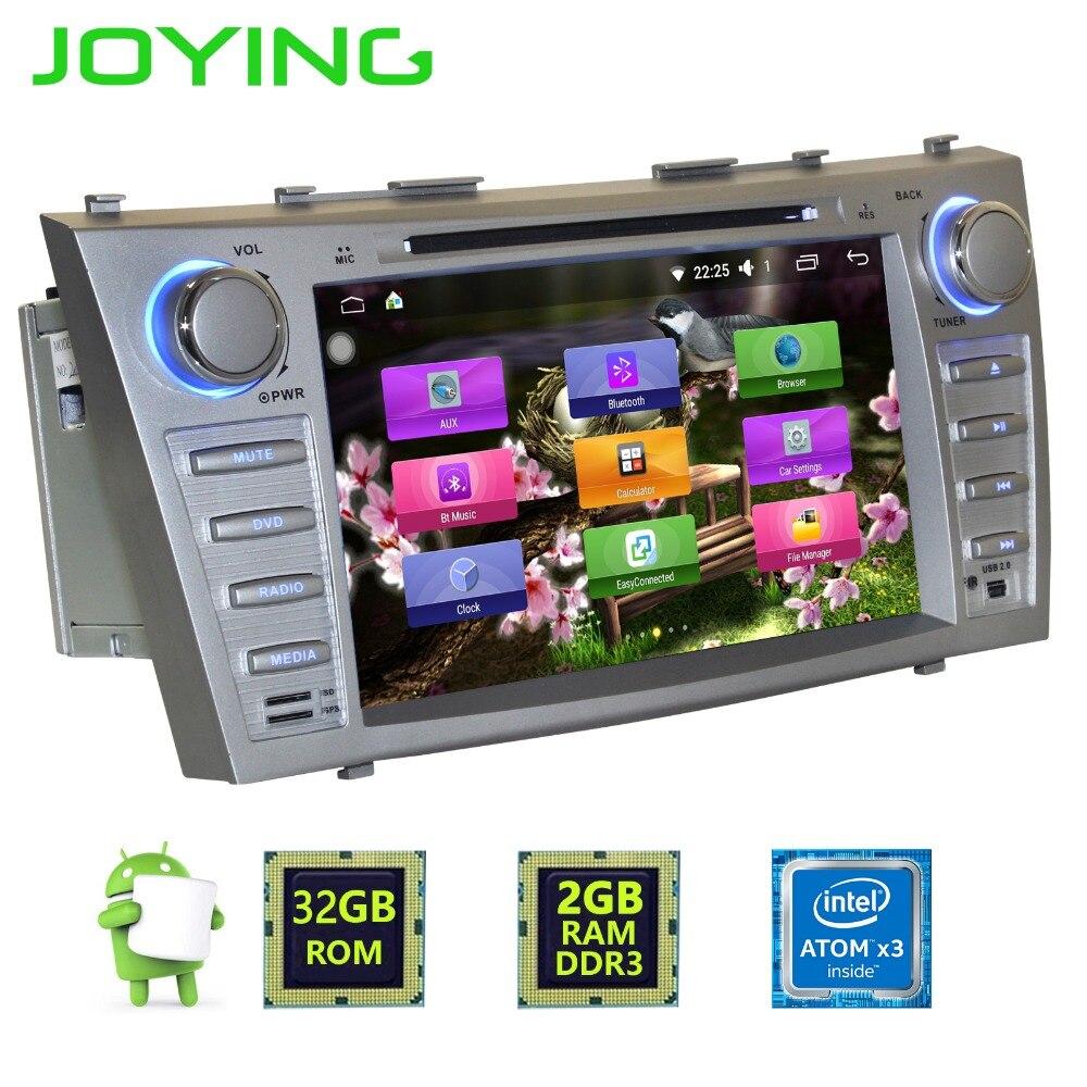 Joying Double 2 Din 8 Quad Core De Voiture Radio Stéréo Magnétophone Autoradio Pour Toyota Camry Android 6.0 Lecteur de Musique