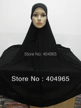 H637 plain big size lycra muslim hijab,without stiff on front,fast delivery,assorted colors - DISCOUNT ITEM  10 OFF Apparel Accessories
