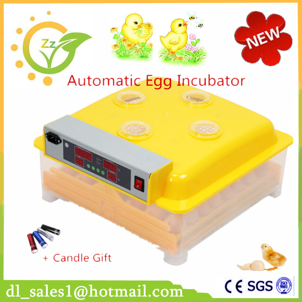 1 Piece Digital Control 48 Egg Incubator Automatic Turning Chicken Quail poultry Hatchery Machine ce certificate poultry hatchery machines automatic egg turning 220v hatching incubators for sale