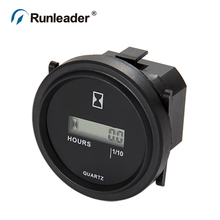 hour meter with digital LCD display for Boat Tractor Generator Engine Mower Fork Light CAT Paramotors Microlights Marine Engines