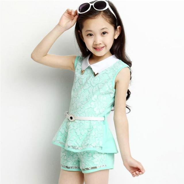 5339ca0ebcd6 Kids 2014 new Korean baby girls summer clothes for children 4-8-12 year-old  child -sleeved track suit
