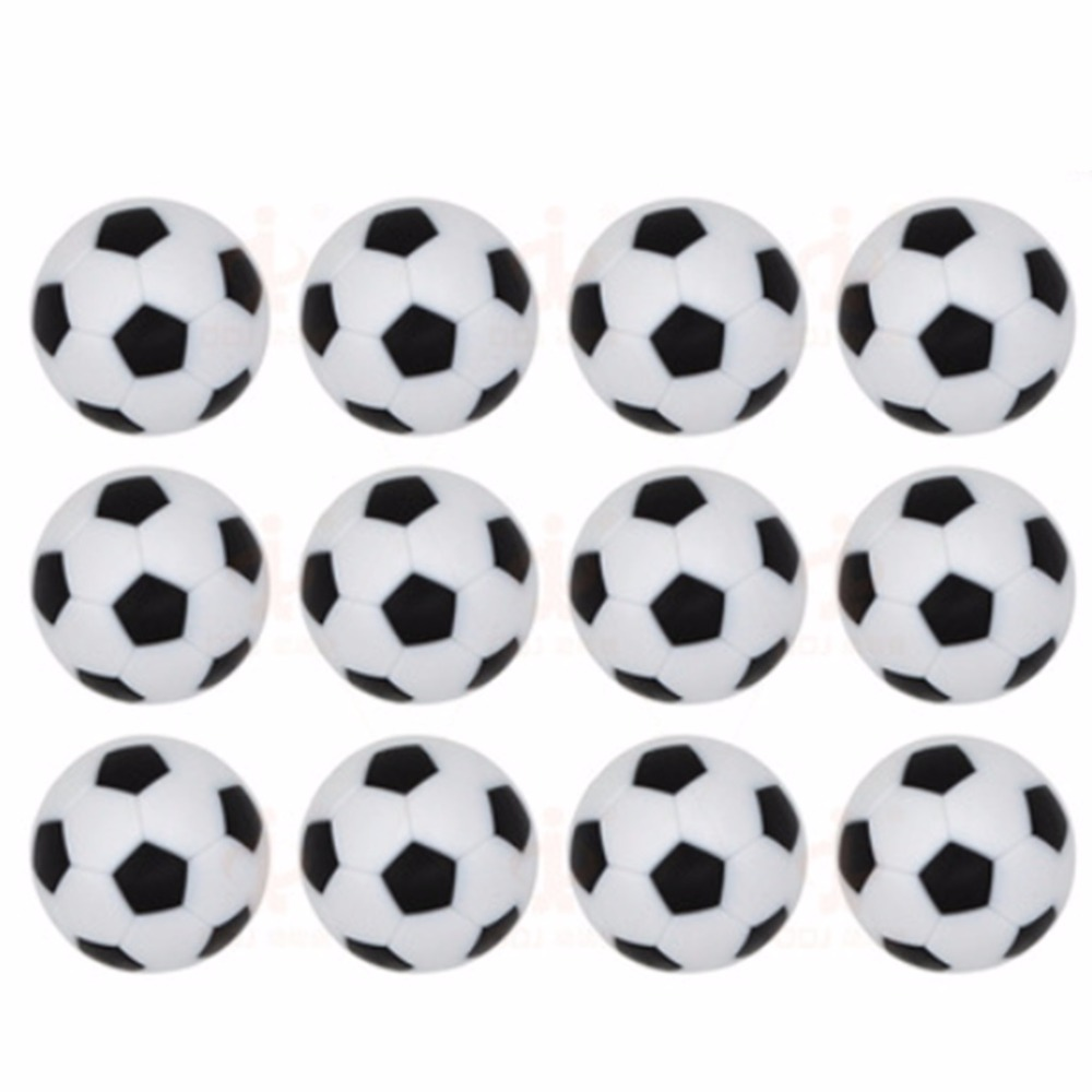 12pcs/32mm Plastic Foosball Table Soccer Table Indoor Family Game Sports