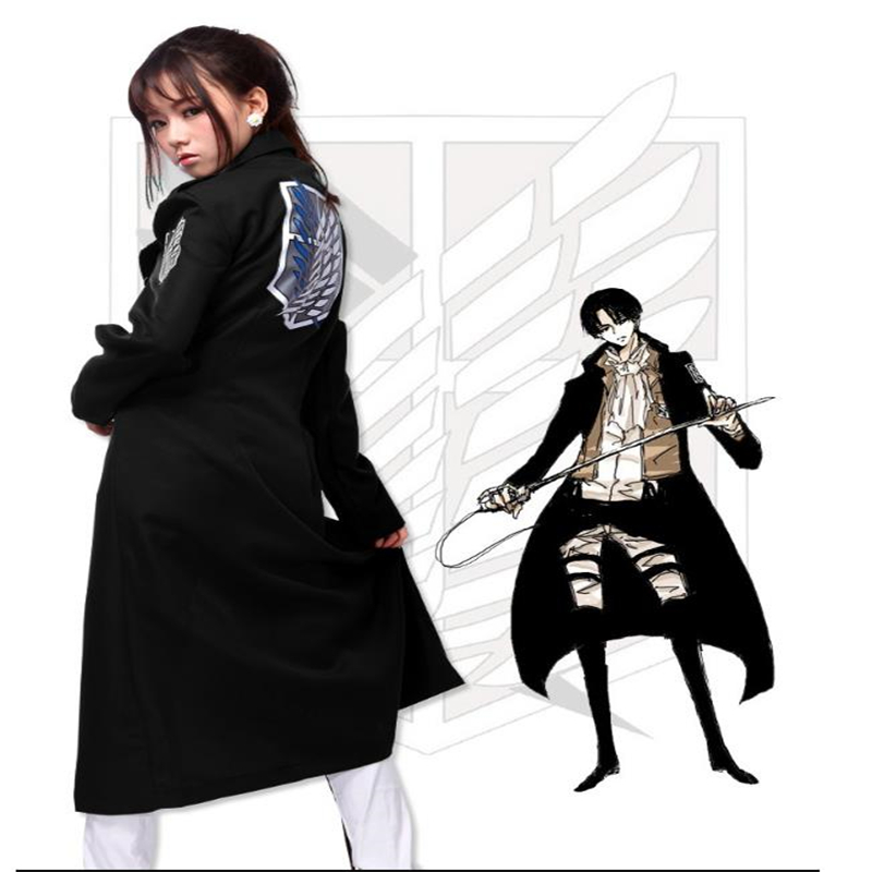 Attacking Titan Captain's Investigation Team Rivayle Jacket Fighting Adult Halloween Cosplay Man And Woman Shawl