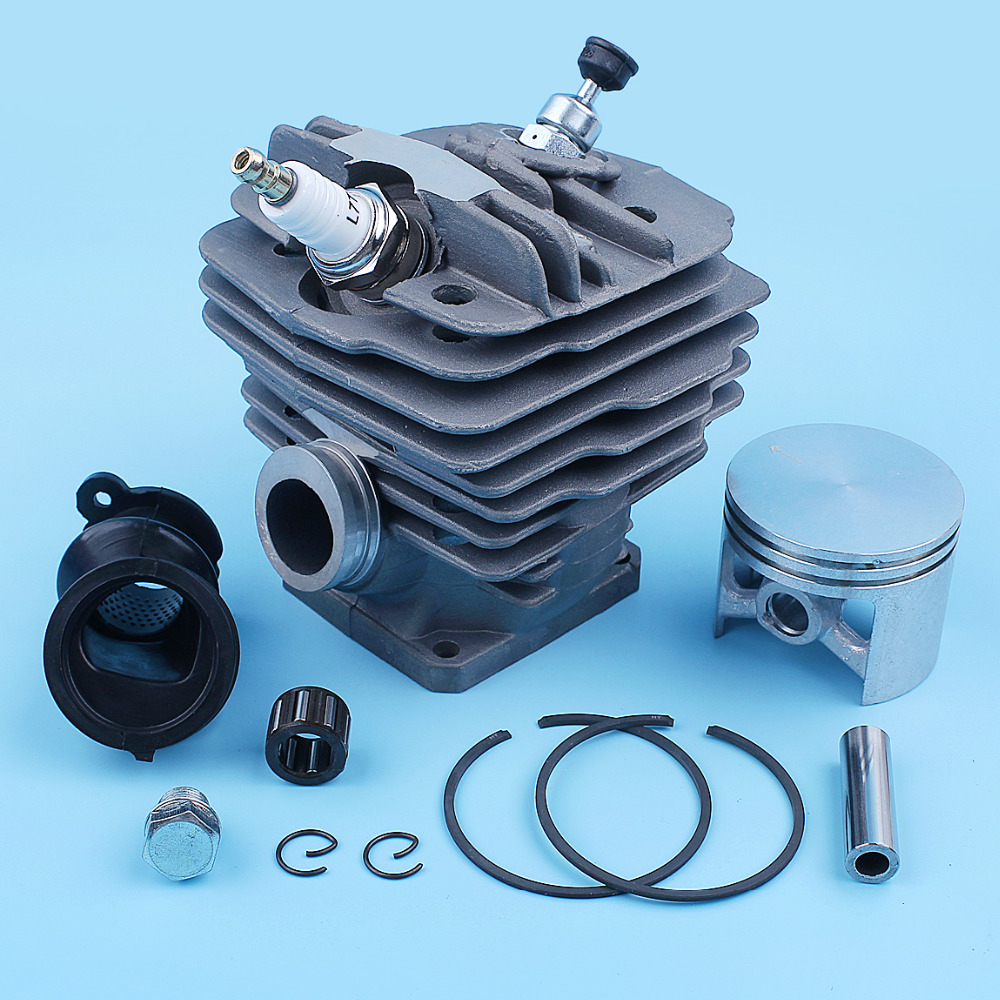 48mm Nikasil Big Bore Cylinder Piston Bearing Kit For Stihl 036 MS360 MS360C 034AV, 034 SUPER, MS340 Chainsaw 1125 020 1215