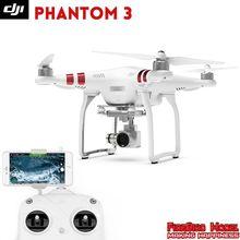 DJI phantom 3 rtf Drone estándar con 2.7 K cámara de alta definición, buildin GPS sistema, live HD vista, Opción de batería adicional