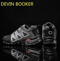 New listing hot sale summer Flying line ventilation men running Air cushion sneakers Increase size 39 47