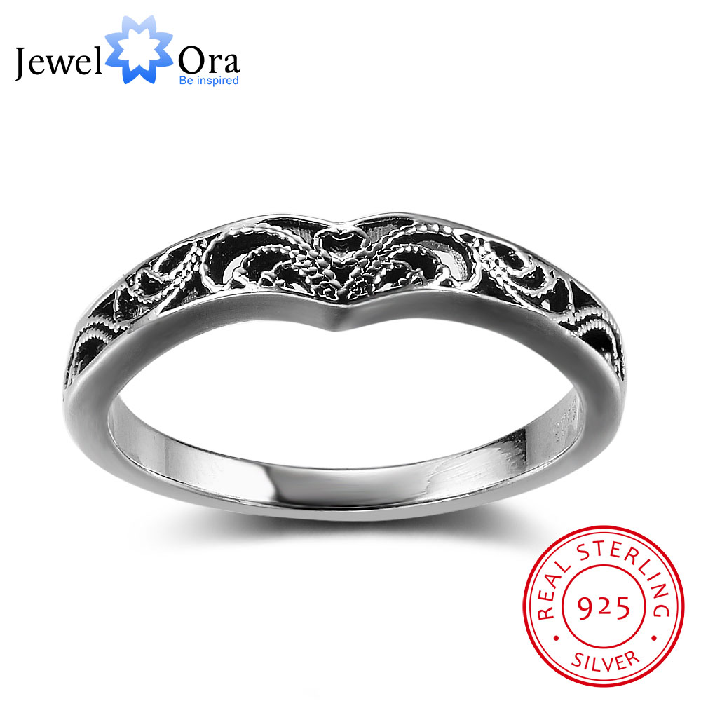Bohemia Style Fashion Victorian Solid 925 Sterling Silver Je