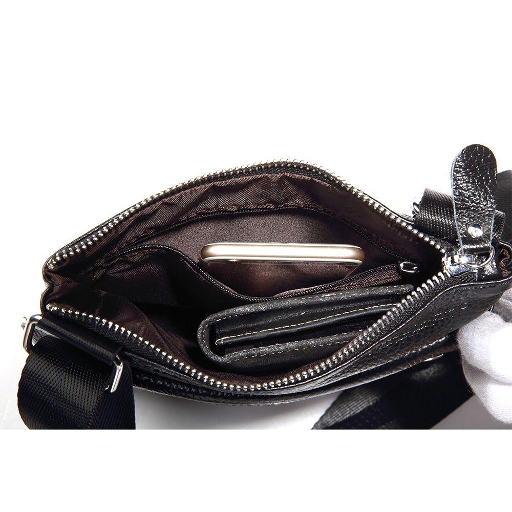 genuine bolsas de couro bolsas Tipo de Bolsa : Bolsas Mensageiro