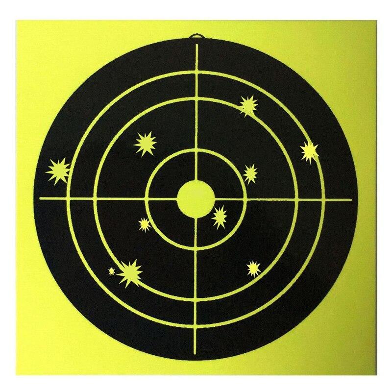 100pcs 4inch Splash Target Sticker Shooting Adhesive Splash Reaction Target Sticker 10cm Archery Shooting Practice