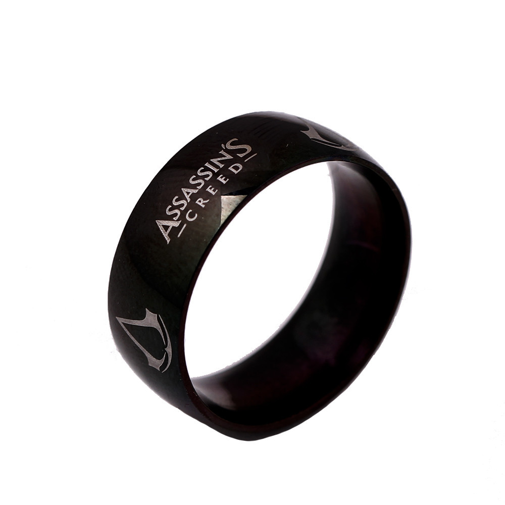 С знаком ассасина кольцо