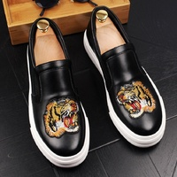New genuine leather shoes men chaussures hommes en cuir men shoes luxury brand loafers sepatu pria