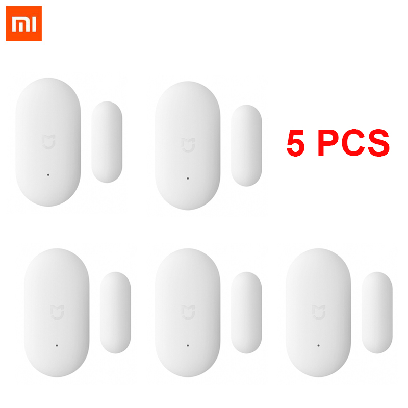 Bundled Sale Original Xiaomi Mijia Intelligent Mini Door Window Sensor Pocket Size Smart Home Automatic lights