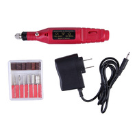Professional Micro Electric Hand Drill Electric Nail Drill Machine Manicure File Polish Buffing Pedicure Tool America