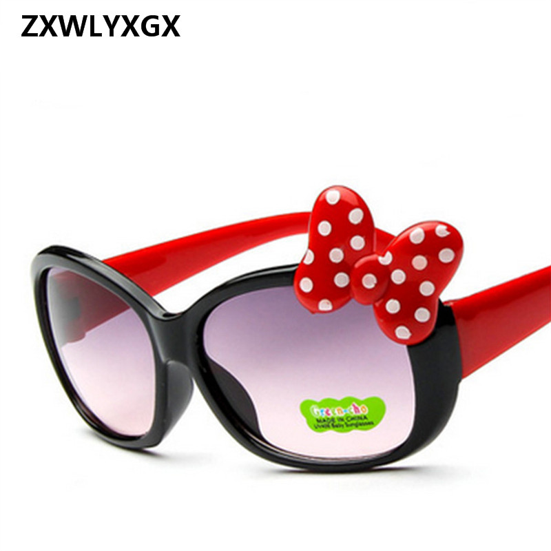2019 Children Goggle Girls Alloy Sunglasses Hot Fashion  Boys Girls Baby Child Classic Retro Cute Sun Glasses