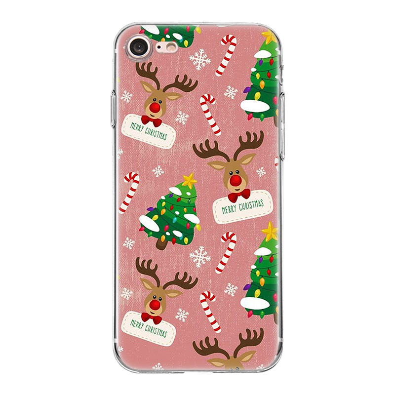 TPU Patterns For Huawei G8 Honor 5C 5X 6 6X 7 8 9 Y5II Mate 9 P7 P8 P9 P10 P20 Lite Plus New Year Gifts Christmas