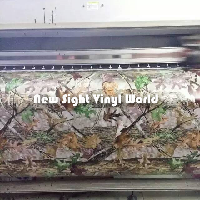 Vinyl Film Wrap Car Camouflage Camo Hunting Realtree Mossy
