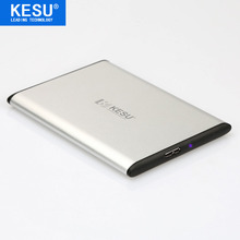 KESU Slim 9.5mm/0.37in 2.5″ Metal Portable External Hard Drive USB 320GB Storage HDD External HD Hard Disk  On Sale