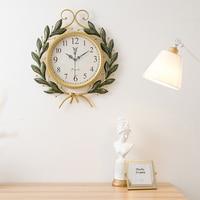 Artwork American Retro Creative Fashion Clock Wall Clock Modern Minimalist Home Living Room Digital Wall Clock