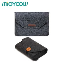 Soft Felt Sleeve Bag Case For Apple Macbook Air Pro Retina 11 12 13 15 Laptop Anti-scratch Cover For Xiaomi Huawei 13.3 Inch