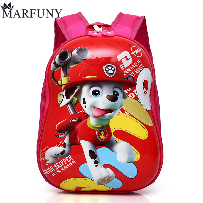MARFUNY Brand 2018 Cute Kid School Bags Cartoon Character 3D Style Children Backpacks Kindergarten Girls Boys Baby Backpack