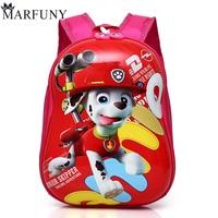 MARFUNY Brand 2018 Cute Kid School Bags Cartoon Character 3D Style Children Backpacks Kindergarten Girls Boys