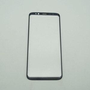 Image 2 - 5 Cái/lốc LCD Trước Màn Hình Cảm Ứng Kính Cường Lực Với OCA Dính Dành Cho Samsung Galaxy Samsung Galaxy S8 G950 / S8 + S8 plus G955 Kính Bên Ngoài + OCA Phim