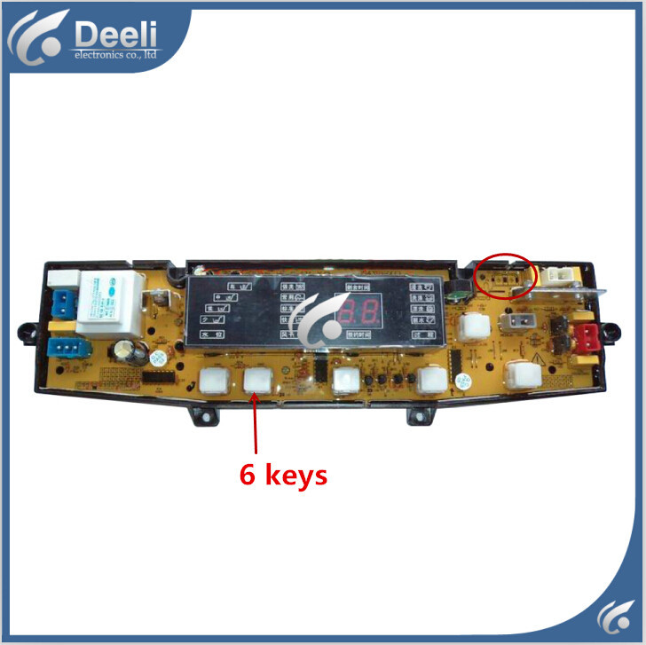 Free shipping 100% tested for washing machine board control board xqb60-6018 Computer board on sale free shipping 100%tested for jide washing machine board control board xqb55 2229 11210290 motherboard on sale