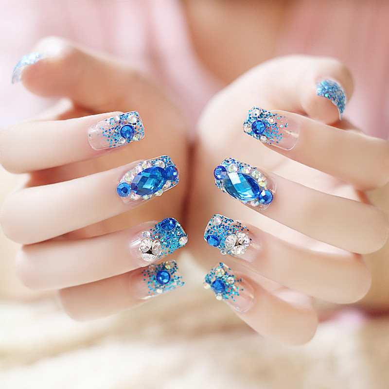 Nail Art With Rhinestones Pictures - NailArts Ideas