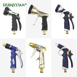 EINE vielzahl von stilen für sie zu wählen von Auto spray gun Einstellbarer modus spritzen Garten bewässerung tragbare düse wasser gun