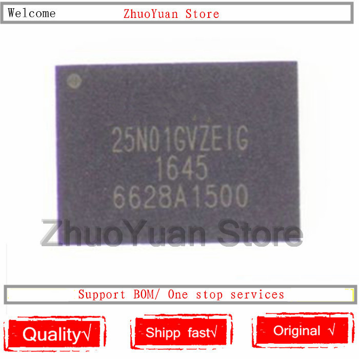 1PCS/lot New original W25N01GVZEIG 25N01GVZEIG 25N01GVZE1G QFN IC Chip