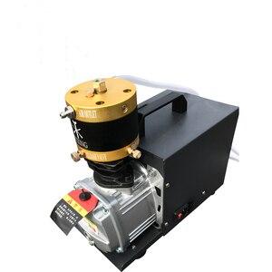 Image 4 - 4500psi 30mpa 300bar bomba pcp compressor de ar alta pressão bomba de ar elétrica para cilindro tanque enchimento gás 110v 220v