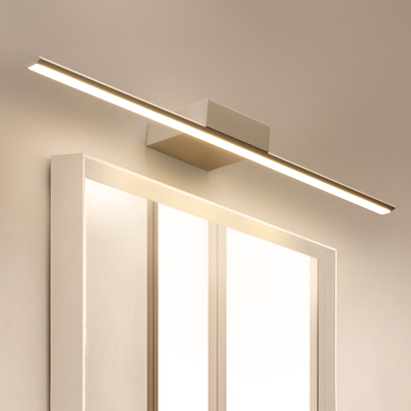 modern minimalist led wall light mirror light waterproof bathroom cabinet lamp Restroom lighting wall lamps ZA1113159 vintage design led wall lamps bronze mirror light for bathroom kitchen lighting