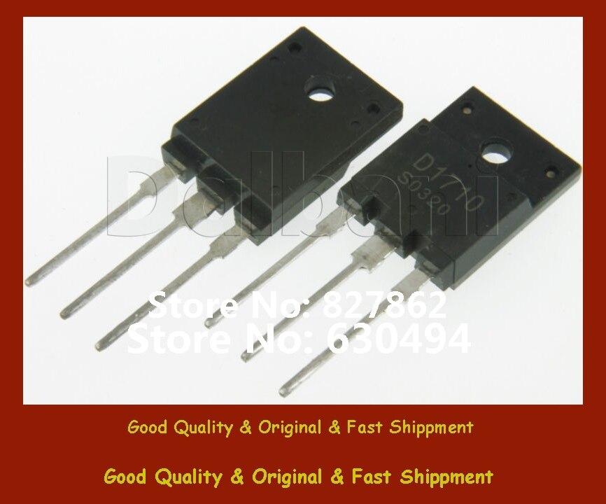 Free Shipping (5pcs) 2SD1710 Generic   NPN Power Transistors D1710 ECG 2324 / NTE 2324Free Shipping (5pcs) 2SD1710 Generic   NPN Power Transistors D1710 ECG 2324 / NTE 2324