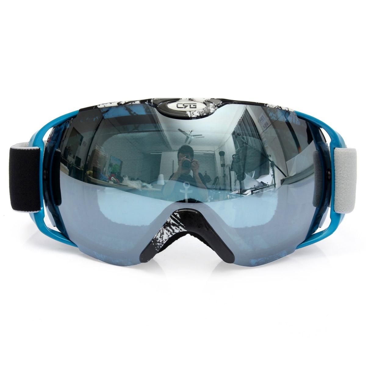 Brand Professional Unisex Adults Spherical Dual Lens Mirror Snowboard Anti Fog UV font b Ski b