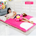Fancytrader Pop Plush Hello Kitty Beanbag Giant Stuffed Soft Double Bed Carpet Sofa Tatami Mattress 200cmX150cm