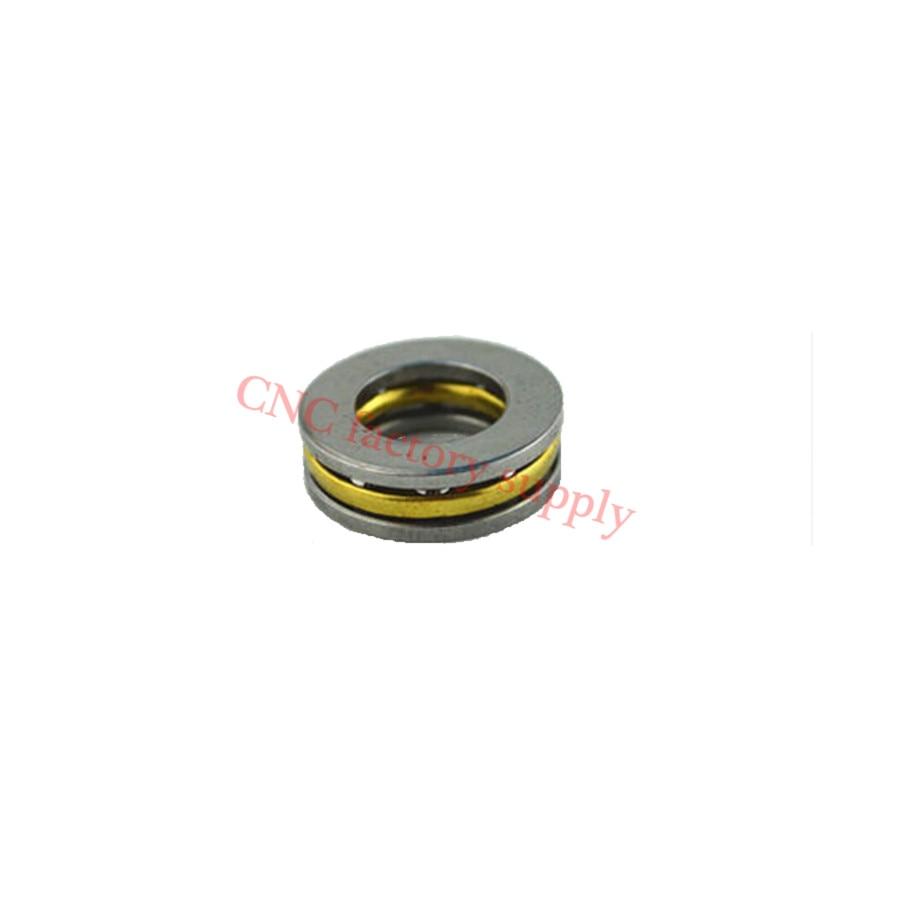 Free Shipping 10pcs/lot  F12-21M Axial Ball Thrust Bearing 12mm X 21mm X 5mm High Quality Hot Sale